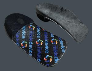 the mikki device severs disease treatment shoe insert